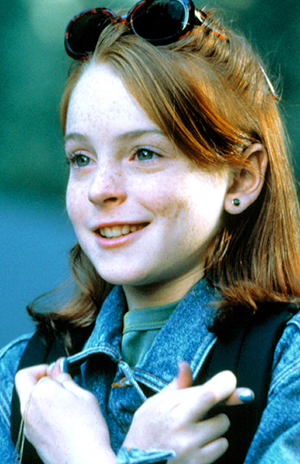 1998 Lohan: Tragic victim of her future self