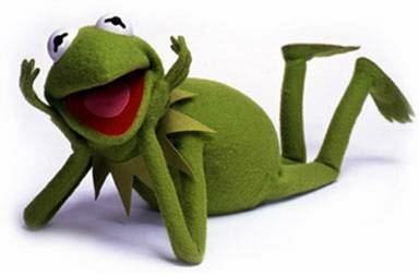 Kermit in happier times
