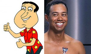 "Tiger as Quagmire - ""Gigada-gigada-gigada!"""