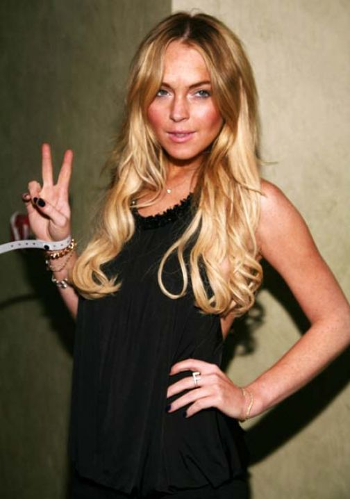 Blacky lands Lohan film; Lohan filmed by Blacky!