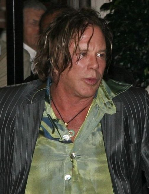 Mickey Rourke Vows To Not Screw [up performance with] Megan Fox.